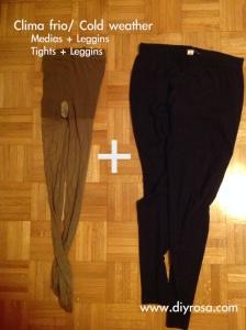 1 medias, pantalon consejos frio