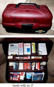 caja de herramientas para primeros auxilios