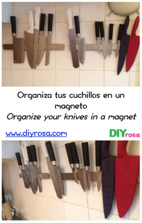 cuchillos en magneto