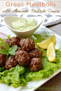 Greek-Meatballs-with-Avocado-Tzatziki-Sauce-from-Primally-Inspired1