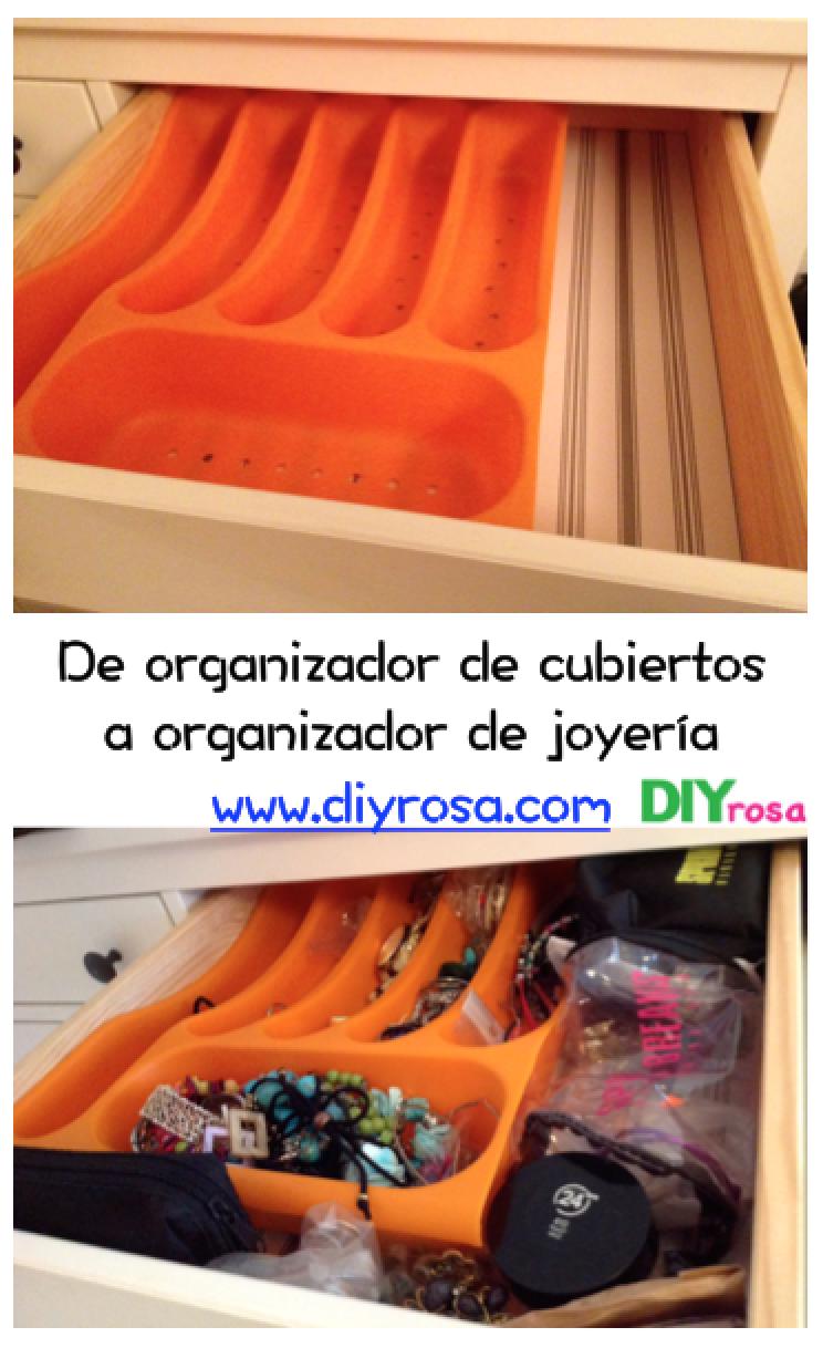 Joyeria Diyrosa ~ Organizador De Joyas Para Cajones