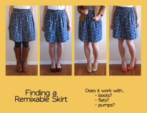 skirts-shoes
