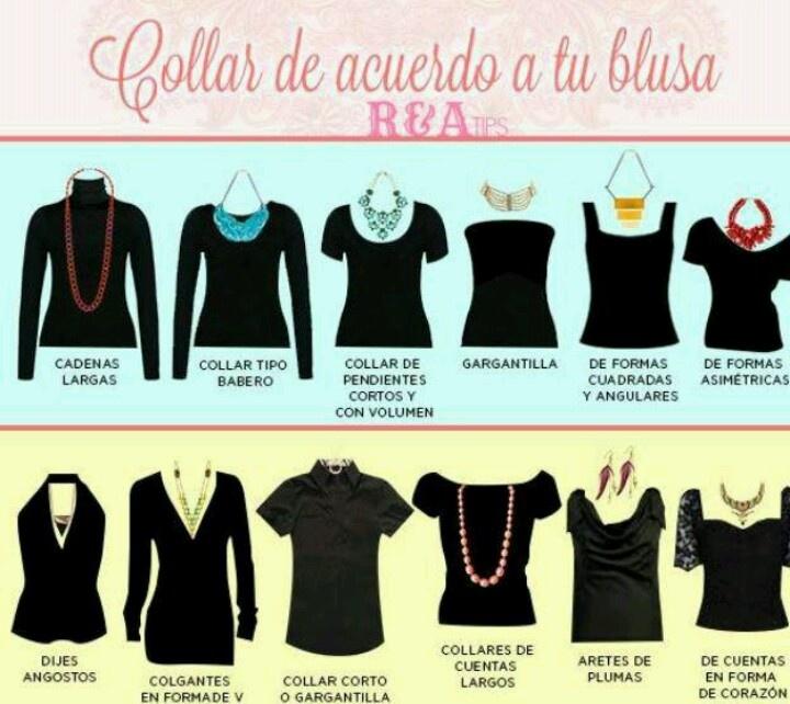 b0a4f7d5226b collares según el cuello de blusa