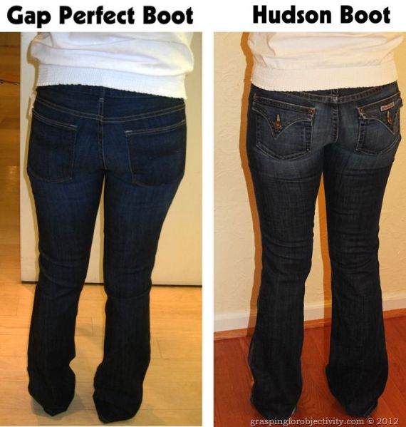 pantalon corte de bota