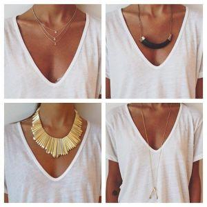 Accesoriza blusa blanca