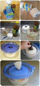 DIY-toallitas desinfectantes