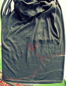 cortar parte baja de camiseta