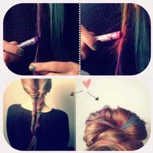 gises de colores pelo