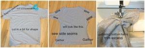 Ciñe tu camiseta instrucciones