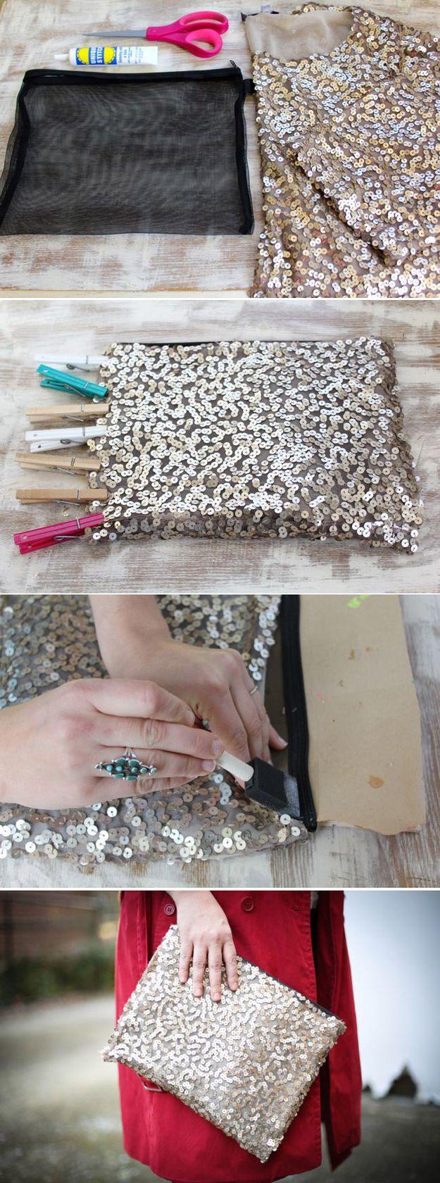 DIY Bolso de Lentejuela