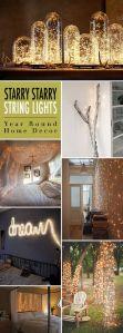 Iluminación Tenue en Casa con Series de Foquitos