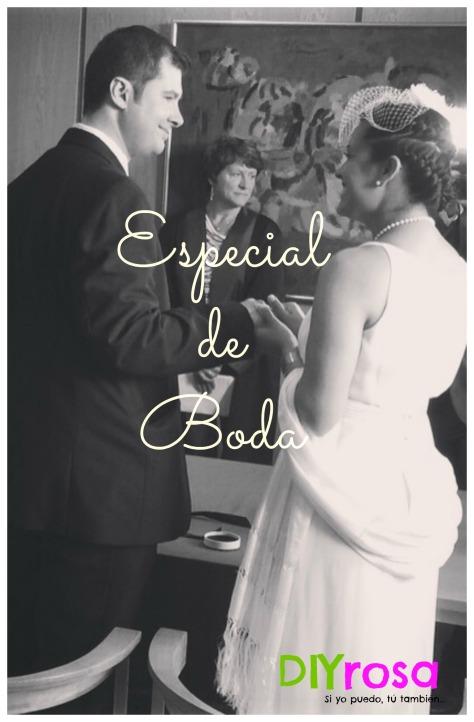 bienvenida especial de boda