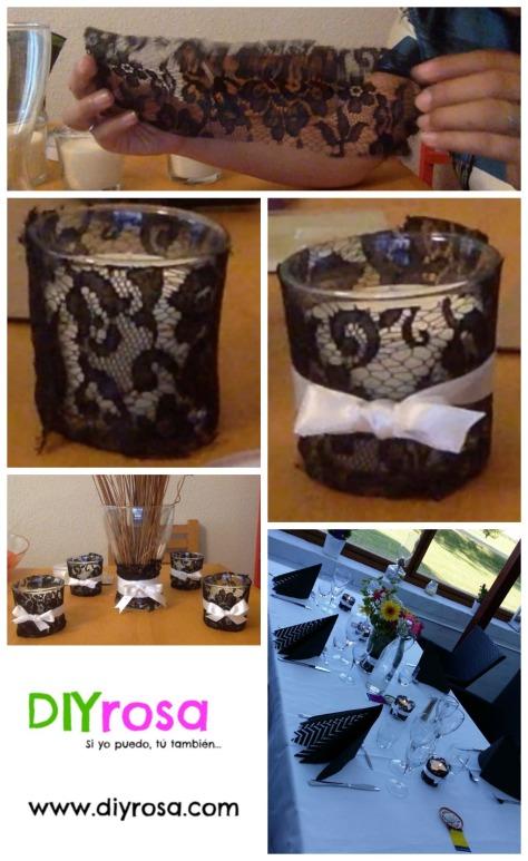 Centro de mesa collage