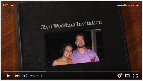 Civil Wedding Invitation