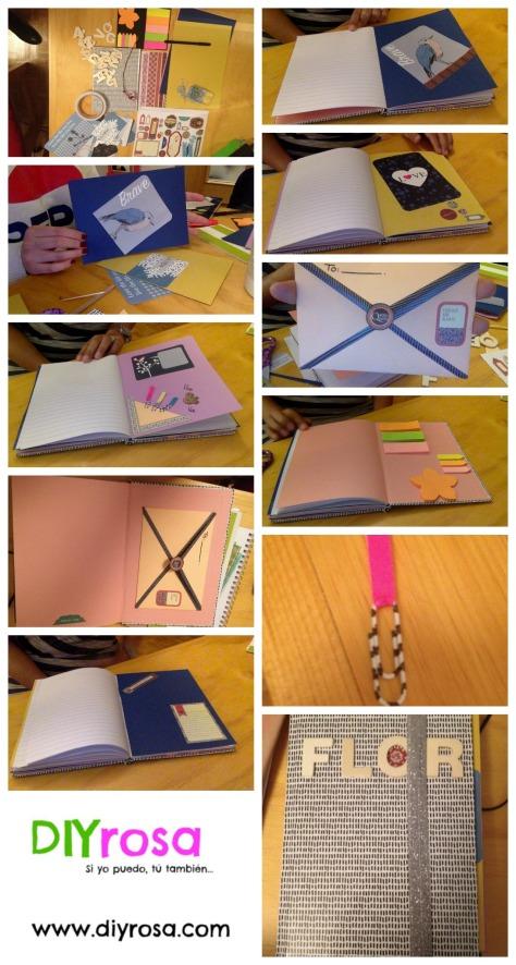 DIY ideas para decorar tus cuadernos