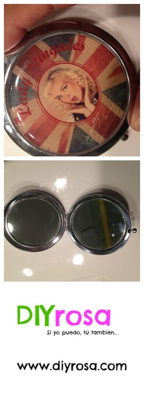Espejo con Aumento para Sacar la Ceja