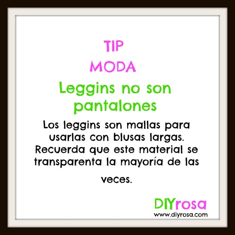 leggins no son pantalones