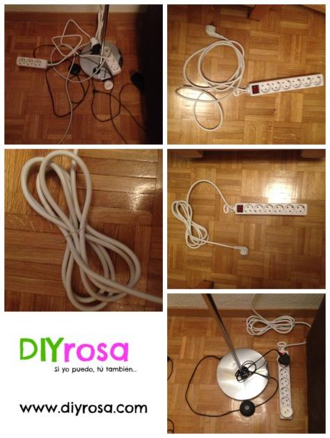Organiza los cables del salón