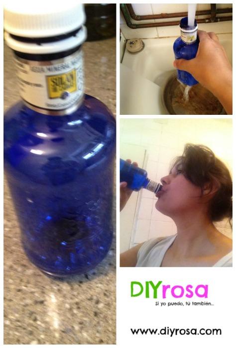 Recicla las botellas de agua