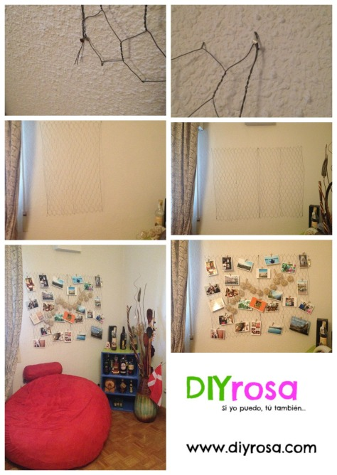DIY malla en tu pared